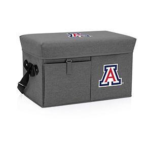 Picnic Time Arizona Wildcats Portable Ottoman Cooler