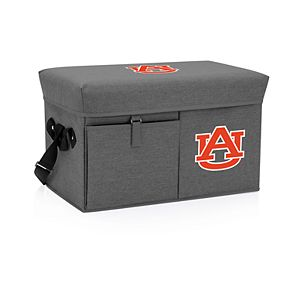 Picnic Time Auburn Tigers Portable Ottoman Cooler