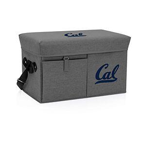 Picnic Time Cal Golden Bears Portable Ottoman Cooler