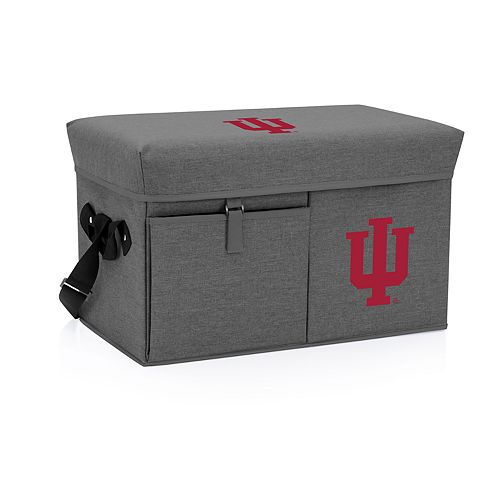 Picnic Time Indiana Hoosiers Portable Ottoman Cooler