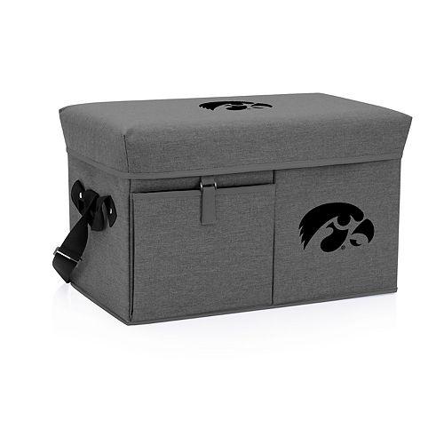 Picnic Time Iowa Hawkeyes Portable Ottoman Cooler