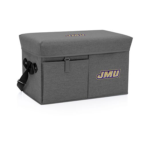 Picnic Time James Madison Dukes Portable Ottoman Cooler