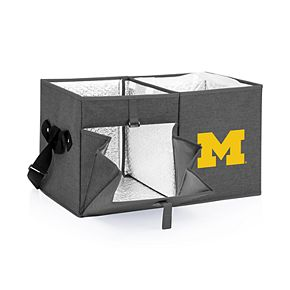 Picnic Time Michigan Wolverines Portable Ottoman Cooler