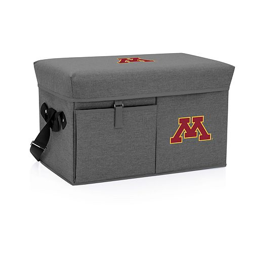 Picnic Time Minnesota Golden Gophers Portable Ottoman Cooler
