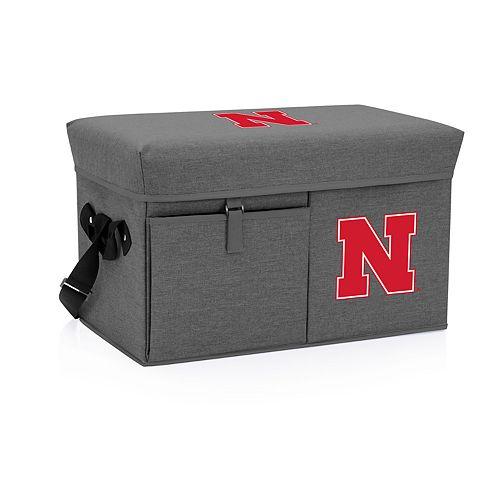 Picnic Time Nebraska Cornhuskers Portable Ottoman Cooler