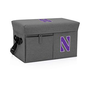 Picnic Time Northwestern Wildcats Portable Ottoman Cooler