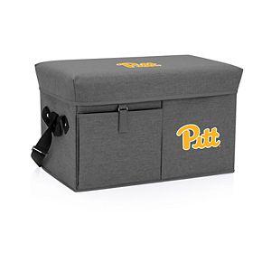 Picnic Time Pitt Panthers Portable Ottoman Cooler