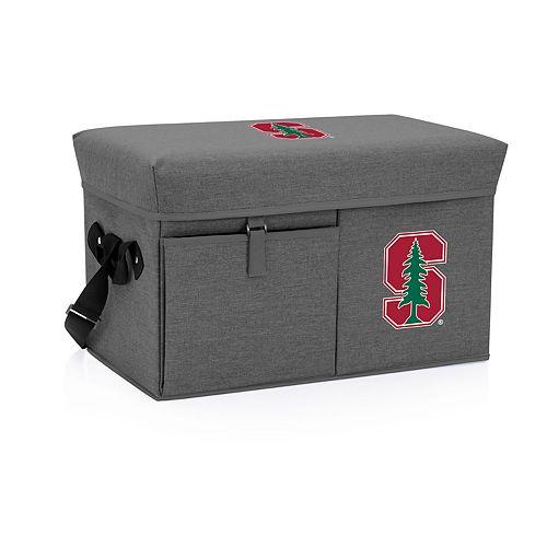 Picnic Time Stanford Cardinal Portable Ottoman Cooler