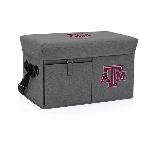 Picnic Time Texas A&M Aggies Portable Ottoman Cooler