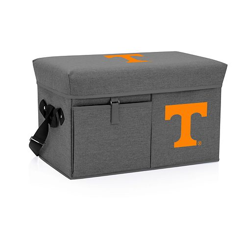 Picnic Time Tennessee Volunteers Portable Ottoman Cooler