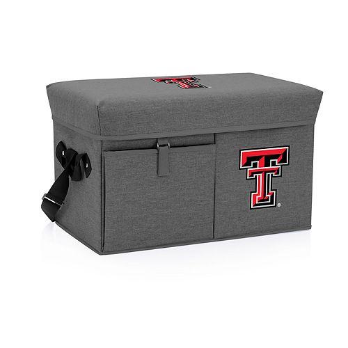 Picnic Time Texas Tech Red Raiders Portable Ottoman Cooler