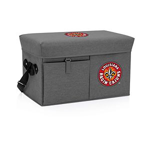 Picnic Time Lafayette Leopards Portable Ottoman Cooler