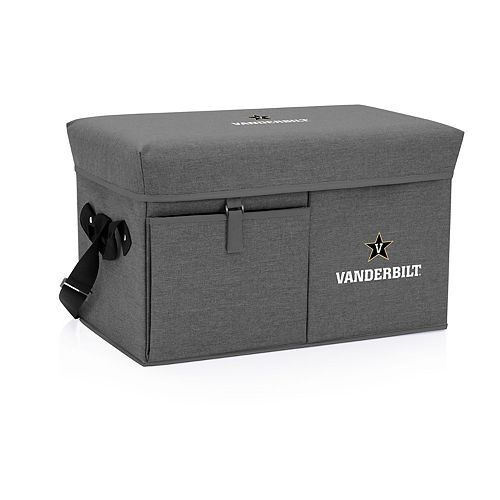 Picnic Time Vanderbilt Commodores Portable Ottoman Cooler