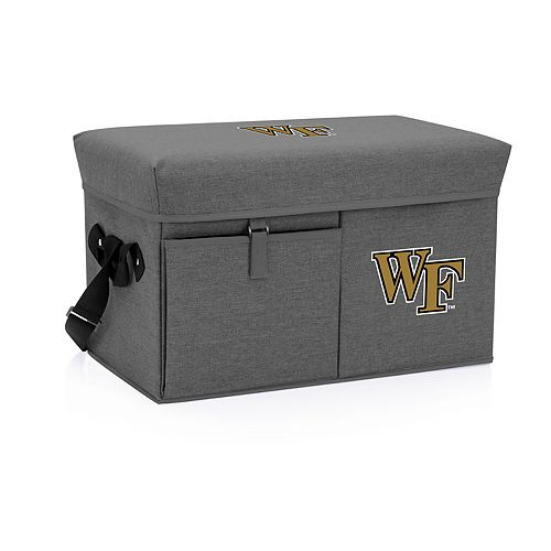 Picnic Time Wake Forest Demon Deacons Portable Ottoman Cooler