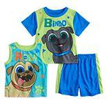 Toddler Boy Puppy Dog Pals Roly & Bingo Tops & Shorts Pajama Set