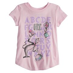 Toddler Girl Jumping Beans® Dr. Seuss 'HI' Alphabet Graphic Tee