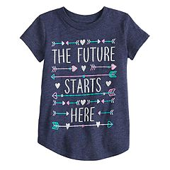 Toddler Girl Jumping Beans® 'The Future Starts Here' Graphic Tee
