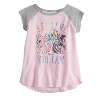 "Toddler Girl Jumping Beans® My Little Pony ""Believe That You Can"" Graphic Tee"