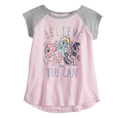 """Toddler Girl Jumping Beans® My Little Pony """"Believe That You Can"""" Graphic Tee"""