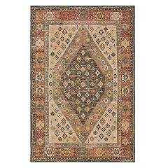 StyleHaven Telfair Diamond Medallion Rug