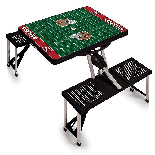 San Francisco 49ers Portable Sports Field Picnic Table