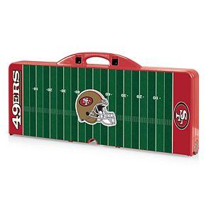 San Francisco 49ers Portable Sports Field Picnic Table
