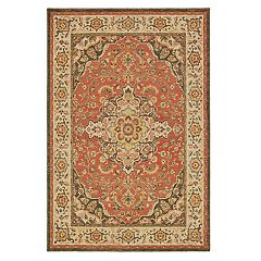 StyleHaven Telfair Ornamental Medallion Rug