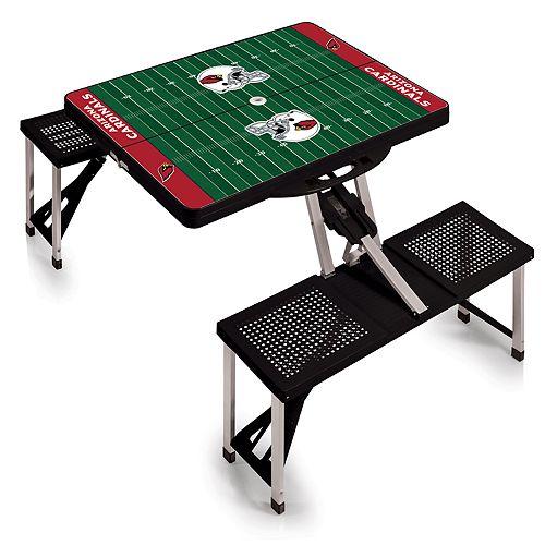 Arizona Cardinals Portable Sports Field Picnic Table