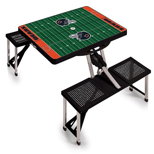 Chicago Bears Portable Sports Field Picnic Table