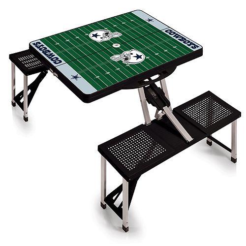 Dallas Cowboys Portable Sports Field Picnic Table