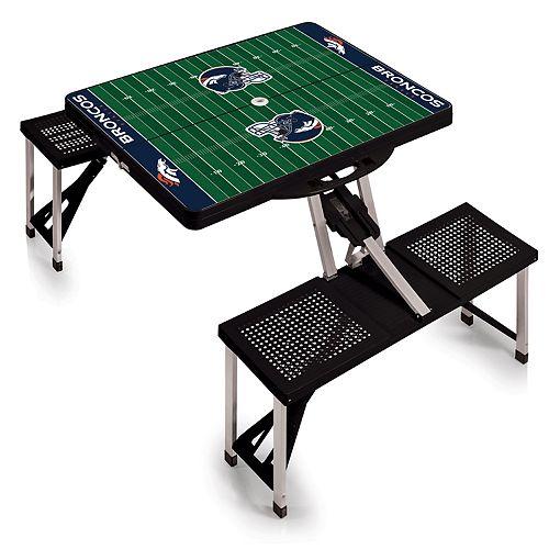 Denver Broncos Portable Sports Field Picnic Table