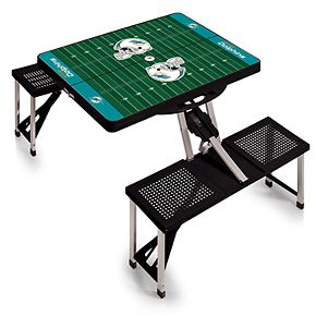 Miami Dolphins Portable Sports Field Picnic Table