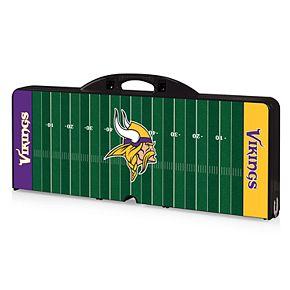 Minnesota Vikings Portable Sports Field Picnic Table