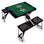 Carolina Panthers Portable Sports Field Picnic Table
