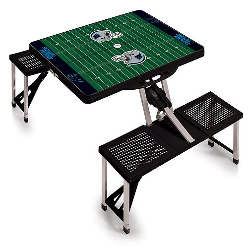 Carolina Panthers Portable Sports Field Picnic Table