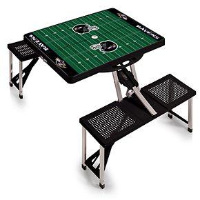 Baltimore Ravens Portable Sports Field Picnic Table
