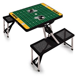 Pittsburgh Steelers Portable Sports Field Picnic Table
