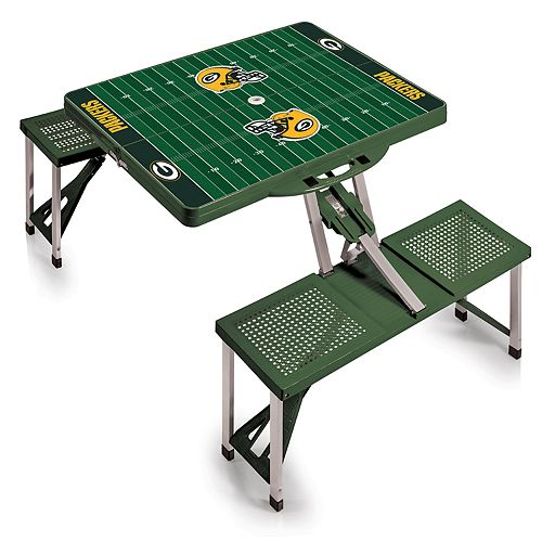 Green Bay Packers Portable Sports Field Picnic Table