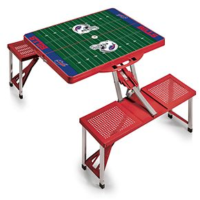 Buffalo Bills Portable Sports Field Picnic Table
