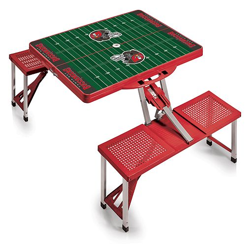 Tampa Bay Buccaneers Portable Sports Field Picnic Table