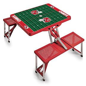 Kansas City Chiefs Portable Sports Field Picnic Table