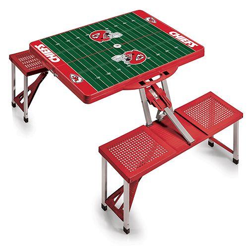 Kansas City Chiefs Portable Sports Field Picnic Table