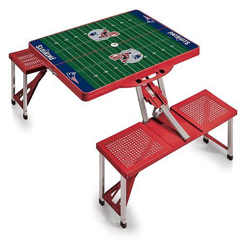 New EnglandPatriots Portable Sports Field Picnic Table