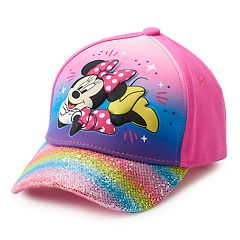Disney's Minnie Mouse Toddler Girl Rainbow Baseball Cap