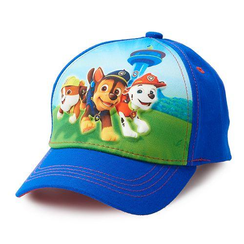 f7c1c952e Toddler Boy Paw Patrol Chase, Marshall & Rubble Baseball Cap