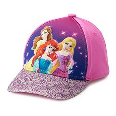 Disney Princess Ariel, Belle & Rapunzel Toddler Girl Baseball Cap