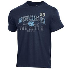 Men's Champion North Carolina Tar Heels Number Tee