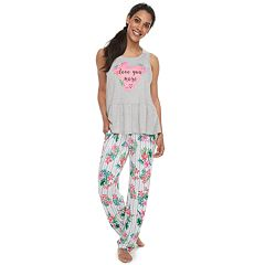 22d93f432 Women s Jammies For Your Families Mommy   Me  Love You More  Top   Floral.  sale
