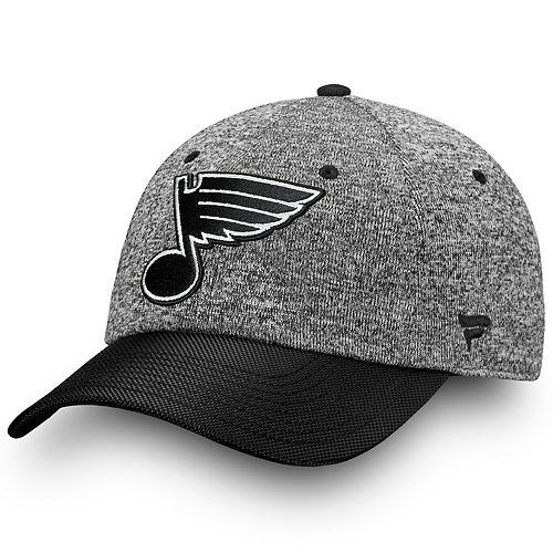 Adult St. Louis Blues Impact Adjustable Cap
