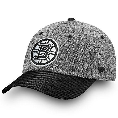 Adult Boston Bruins Impact Adjustable Cap